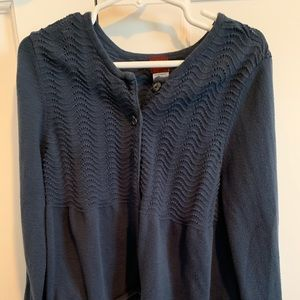 Girls Tea Collection Blue Cardigan